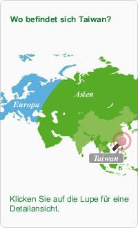 Taiwan Karte