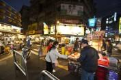 Un marché nocturne