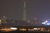 Taipei 101 la nuit