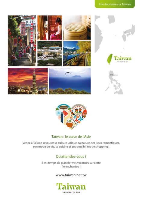 Info tourisme de Taiwan